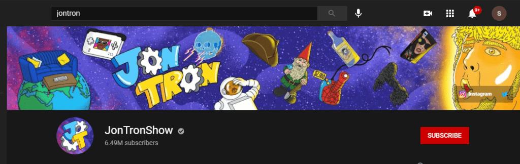jontron YouTube channel